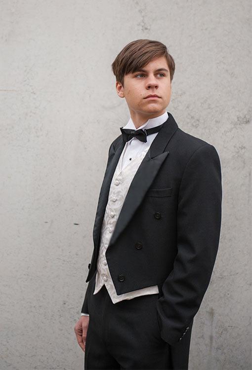 Black Tail Suit